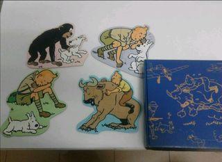 Mini puzzles de Tintin