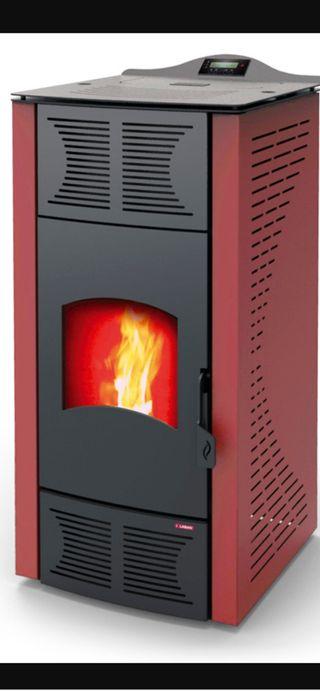 estufa y Caldera 24KW mixta radiadores y aire