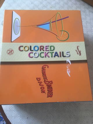 "Coffret ""Colored cocktails "" de Gabriel Boudier"