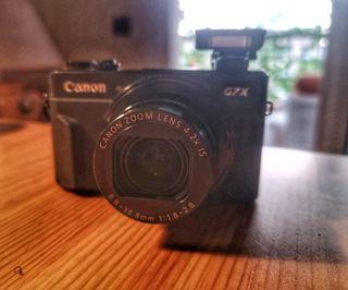 Cámara de fotos Canon Power Shot G7X Mark II