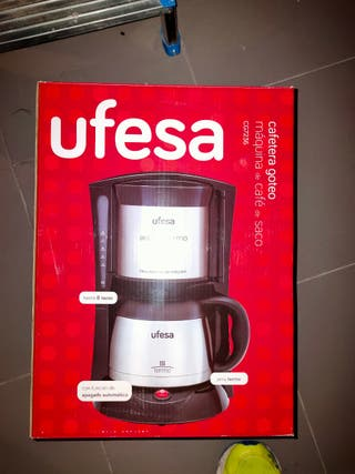 Cafetera Ufesa Goteo