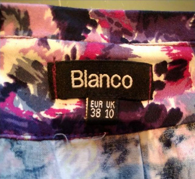 Minifalda Blanco 38