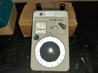 aparatos de medida eléctricas