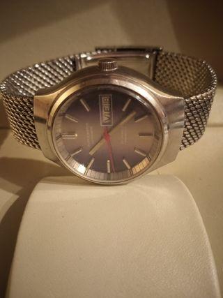 reloj super wach automático años 70