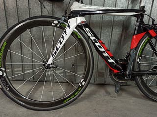 Bicicleta Scott Aero Carbono.