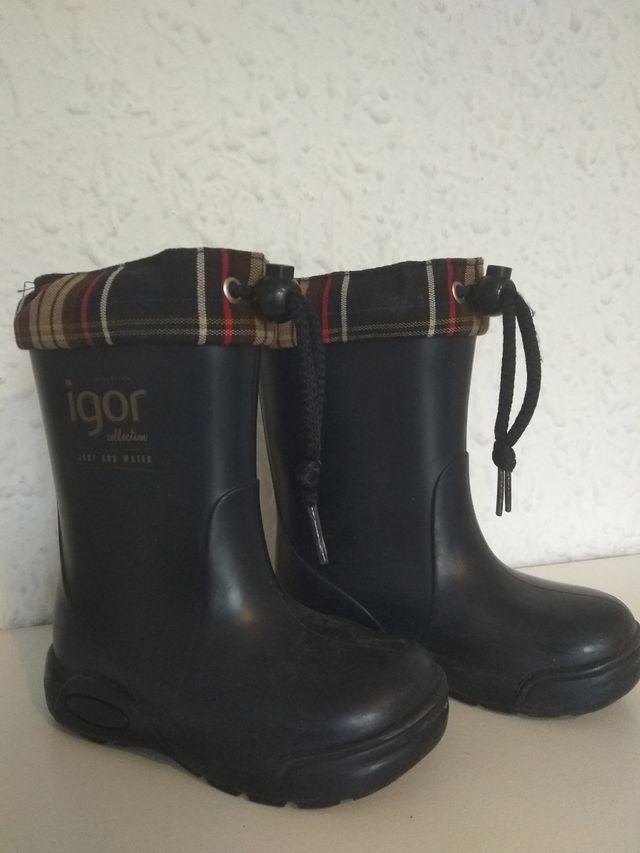 botas de lluvia IGOR talla 25