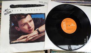 Vinilo Maxisingle Rick Astley