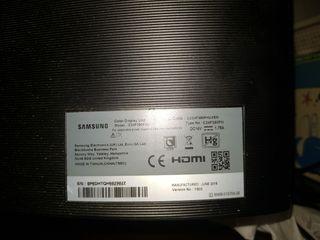 """pantalla de PC Samsung 24"""" curva"""