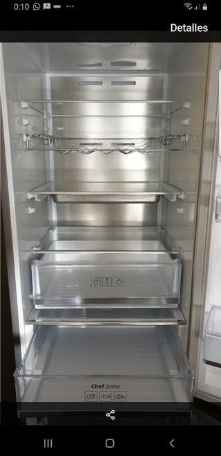 frigorífico Samsung NoFrost Chef Zone Clase A+++