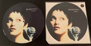 "Madonna Rain Picture Disc 12"""
