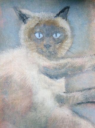 retratos mascotas perros gatos animales pinturas
