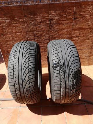 Vendo ruedas michelin más llantas por 70€