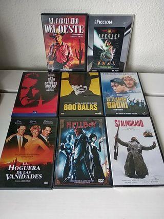 Lote 8 dvd ..5 euros todos!!!!