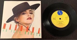 """Madonna La Isla Bonita 7"""" vinilo Single"""
