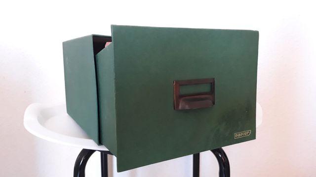 Caja archivador con indexación