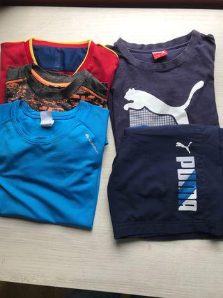 Lote camisetas y bañadores