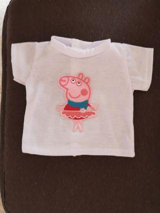 Camiseta para muñeca.