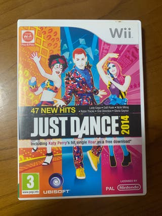 Juego Wii Just Dance 2014