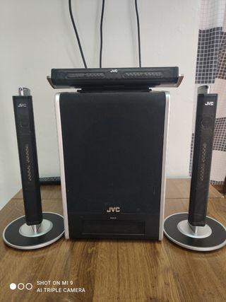 JUEGO ALTAVOCES JVC