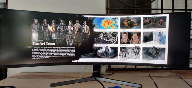 Monitor 49 ultra wide Samsung C49RG90