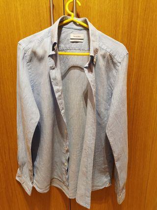 Camisa lino Pedro del Hierro