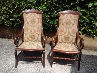 Muebles antiguos de caoba