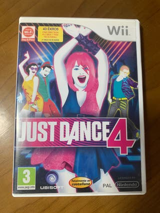 Juego Wii Just Dance 4