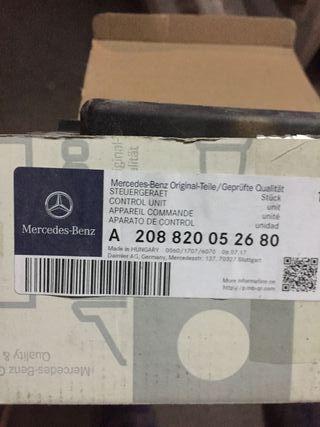 Unidad de control eléctrico Mercedes