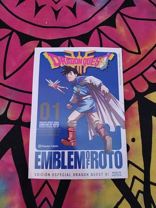 manga dragon quest emblem of roto perfect edition