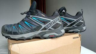 Botas trekking Salomon X Ultra 3 GTX hombre