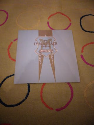 """Disco MADONNA """" THE IMMACULATE COLLECTION"""