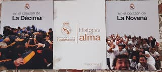 LOTE 3 DVDS REAL MADRID