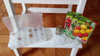 Organizador de semillas