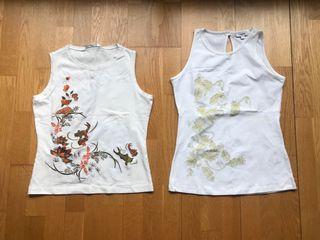lote 2 Camisetas de mujer Trucco 8€