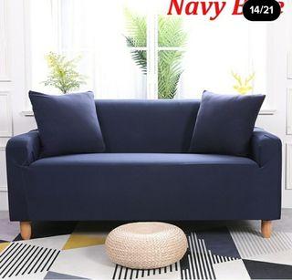 funda para sofa azul marino 3 puestos