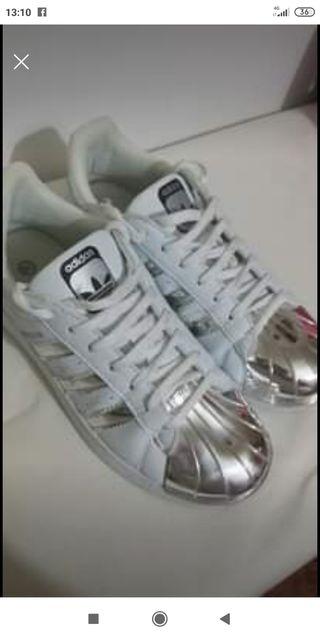 Zapatillas Super Star están nuevas el 39
