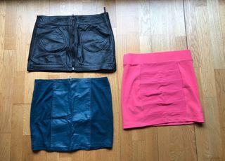 Lote de 3 faldas 5€