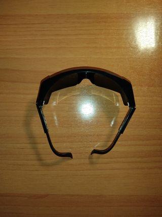 Gafas de sol con laterales.