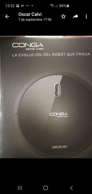 ROBOT ASPIRADOR CONGA