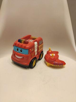 camión bomberos teledirigido