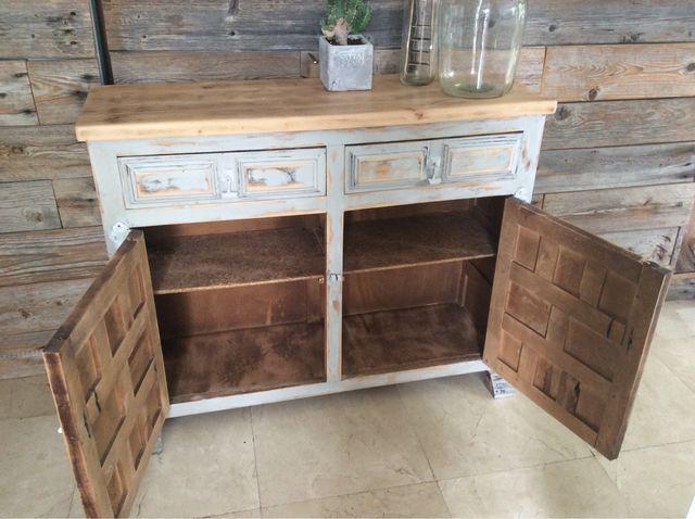 Mueble recibidor restaurado