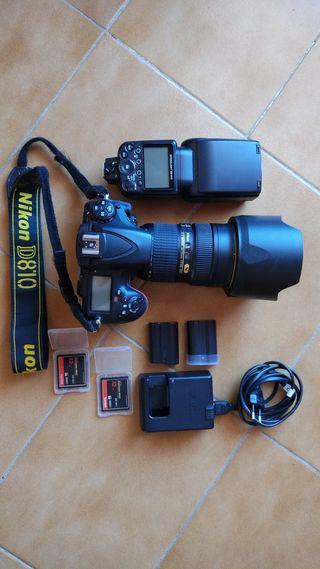 Nikon D810 Full Frame con Nikkor 24-70mm f/2.8