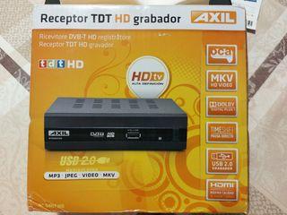 Receptor TDT HD Grabador