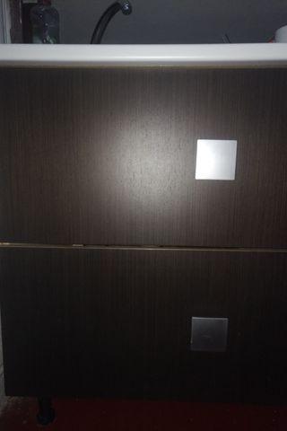 Mueble de cocina con fregadero