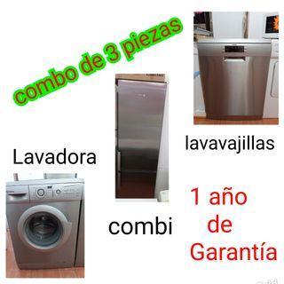 lavavajillas combi Lavadora
