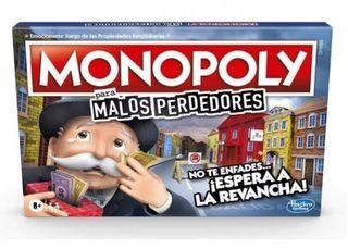 Monopoly Malos perdedores. Nuevo