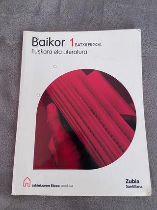 Libro euskera 1 BAchillerato