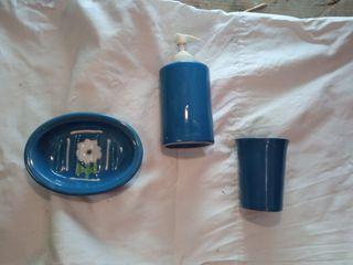 Elementos decorativos para lavabo