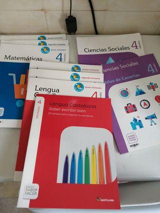 libros 5to de primaria, Editorial Santillana