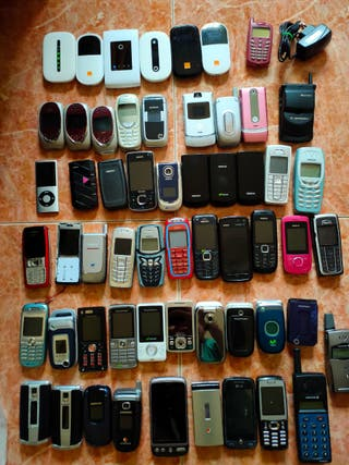 Gran Lote de teléfonos móviles router modem mifi